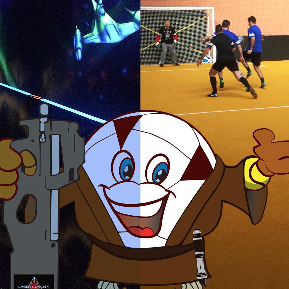 Laser game et futsal avignon vaucluse