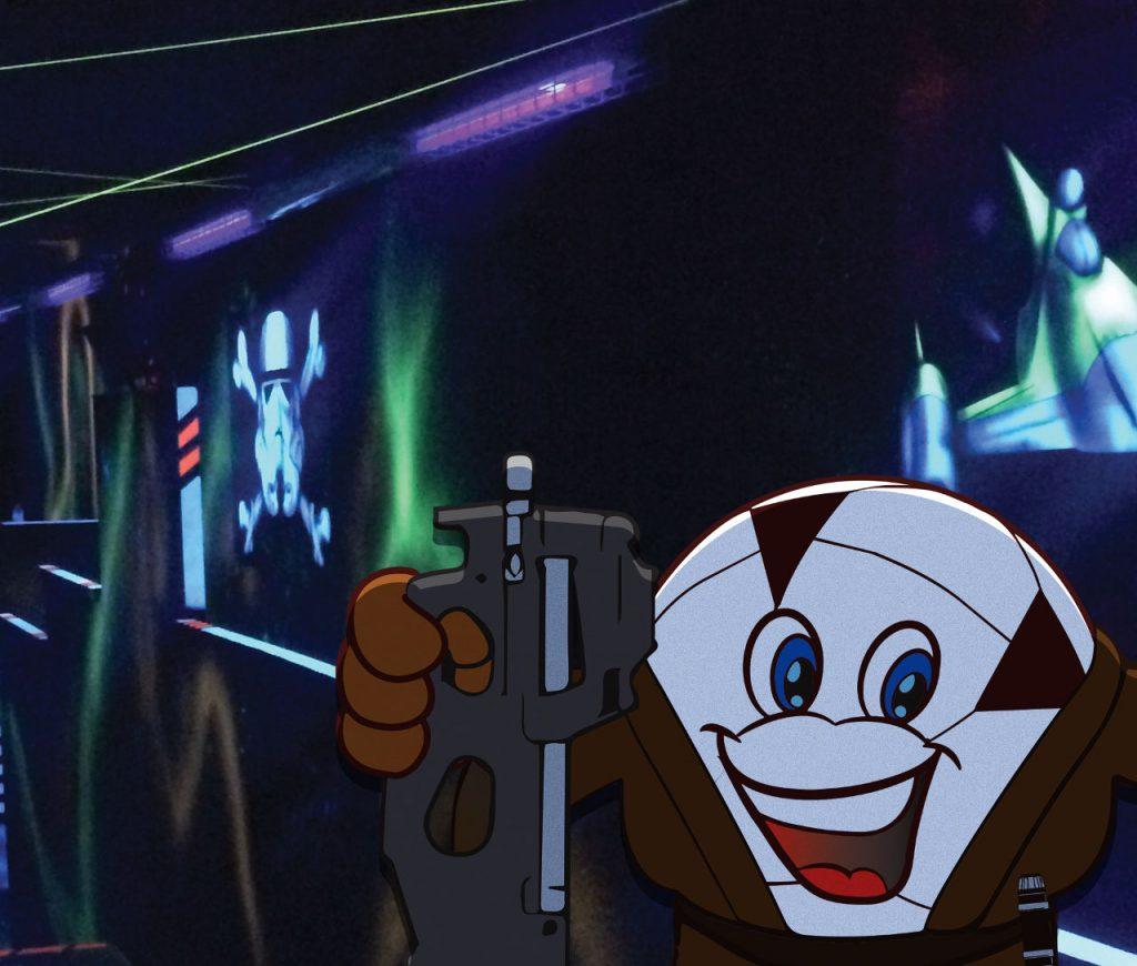 Laser game Avignon dans l'univers Star Wars